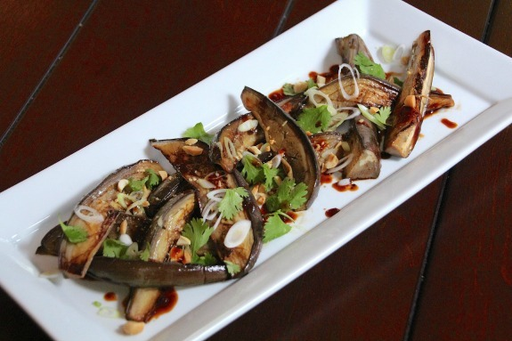 Chosen Eats: Grilled Japanese Eggplant Salad