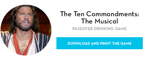 Five Passover Films and the Drinking Games to Match