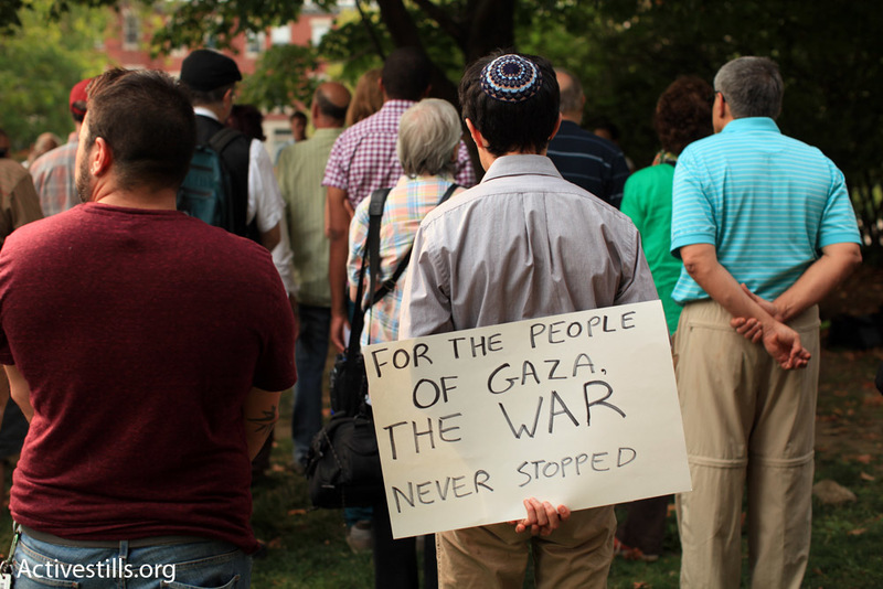 Jewish Mourning for Gaza Draws Over 100 to Coolidge Corner