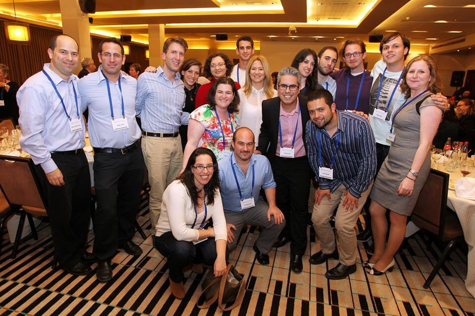 Young Leaders from Haifa and Boston in Haifa last March
