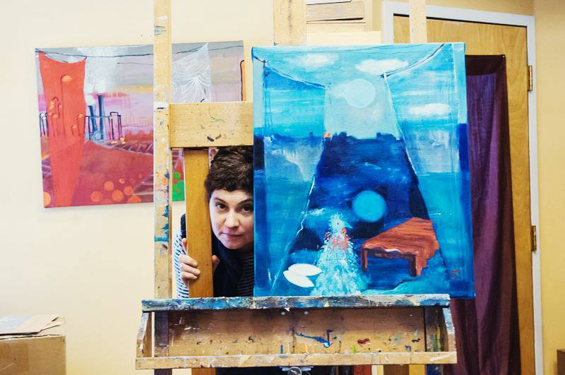 Four Questions with Alexandra Rozenman, Visual Artist