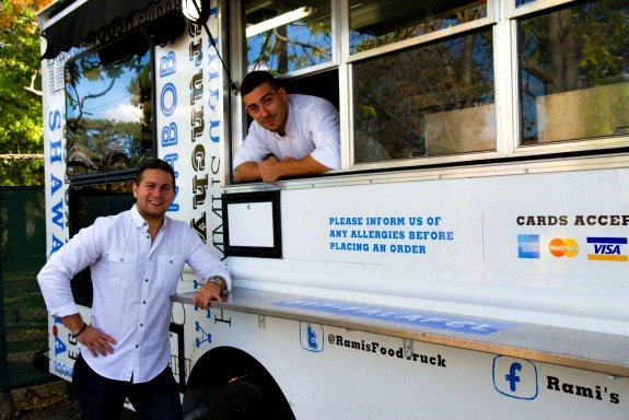 Four Questions with Matt Pultman and Ari Kendall from Rami's Food Truck